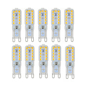 ywxlight® 10 PC dimmable 6w g9 led 조명 22 smd 2835 450-550lm 따뜻한 / 자연 / 시원한 흰색 ac 220 / 110v