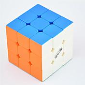 Qiyi® 부드러운 속도 큐브 3*3*3 속도 / 전문가 수준 매직 큐브 무지개 전사 안티 - 팝 / 조정 봄 ABS