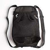 고양이 강아지 캐리어&여행용 배낭 전면 배낭 애완동물 바구니 솔리드 휴대용 블랙 오렌지 레드 블루 핑크