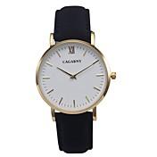 CAGARNY 아가씨들 패션 시계 손목 시계 / 석영 가죽 밴드 빈티지 멋진 블랙 레드 브라운