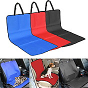 Cat / Dog Car Seat Cover Pet Waterproof / Foldable Red / Black / Blue / Beige Textile
