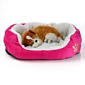 강아지 발자국스타일 애완동물 침대 (여러색상,50x40x16CM)