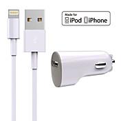 충천기 키트 차량용 충전기 Other 1 USB 포트 케이블과 For iPhone(5V , 2A)