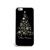 제품 아이폰7케이스 아이폰6케이스 아이폰5케이스 케이스 커버 울트라 씬 패턴 뒷면 커버 케이스 크리스마스 소프트 TPU 용 Apple아이폰 7 플러스 아이폰 (7) iPhone 6s Plus iPhone 6 Plus iPhone 6s 아이폰 6