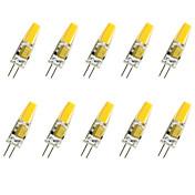 3W G4 LED Mais-Birnen T COB COB 280LM lm Warmes Weiß / Kühles Weiß Dekorativ V 10 Stück