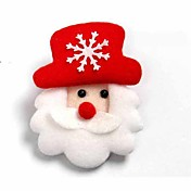 4pcs muñeco de nieve acrílico lámpara de ambiente de la decoración de iluminación novedoso 7colorful luz de la Navidad
