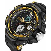 SANDA® Men's Sport Watch Military Style Alarm Waterproof Sport Japanese Quartz Watches Shock Resistance Relogio Digital Wrist Watch
