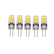 5 Pcs 유선 Others G4 6 led Sme5733 DC12 v 200 lm Warm White Cold White Double Pin Waterproof Lamp Other