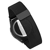 화웨이 시계에 Withings의 activit 스마트 시계 밴드 pinhen 18mm 스테인레스 스틸 밀라노 메쉬 시계 밴드