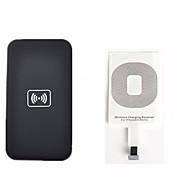 아이폰 제나라 무선 충전 키트는 6 5 5C 5S 패드와 수신기 카드 키트를 충전 무선 충전기