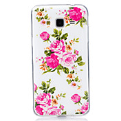 For Samsung Galaxy 7 (2016) J7 J5 (2016) Cover Case Glow in The Dark IMD Pattern Case Back  Flower Soft TPU for J5  J3  J3 (2016) Galaxy Grand Prime