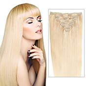 인간의 머리카락 확장 머리카락 100-110 14 머리 확장