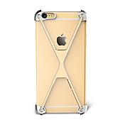 용 충격방지 케이스 범퍼 케이스 단색 하드 알루미늄 용 Apple 아이폰 7 플러스 아이폰 (7) iPhone 6s Plus/6 Plus iPhone 6s/6