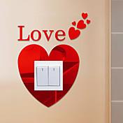미로스 모양 추상 벽 스티커 크리스탈 월 스티커 거울 벽스티커 데코레이티브 월 스티커,비닐 자료 홈 장식 벽 데칼