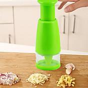 1 pezzi Scalogno Aglio Cipolla Zenzero Cutter & affettatrice For per la verdura Per utensili da cucina PlasticaAlta qualità Cucina