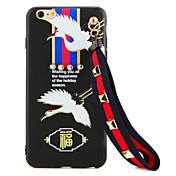 용 크리스탈 DIY 케이스 뒷면 커버 케이스 카툰 소프트 TPU 용 Apple 아이폰 7 플러스 아이폰 (7) iPhone 6s Plus/6 Plus iPhone 6s/6