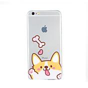 용 패턴 케이스 뒷면 커버 케이스 개 소프트 TPU 용 Apple iPhone 6s Plus iPhone 6 Plus iPhone 6s 아이폰 6 iPhone SE/5s iPhone 5