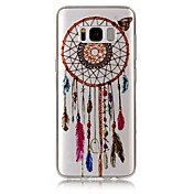 For Samsung Galaxy S8 Plus S8 Case Cover Wind Chimes Pattern High Permeability TPU Material IMD Craft Phone Case S7 S6 (Edge) S7 S6 S5