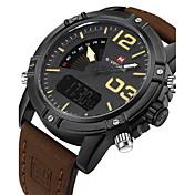 NAVIFORCE Hombre Reloj Deportivo Reloj Militar Reloj de Vestir Reloj de Moda Reloj de Pulsera Reloj Pulsera Reloj creativo únicoDigital