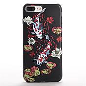 Para Diseños Funda Cubierta Trasera Funda Animal Suave TPU para Apple iPhone 7 Plus iPhone 7