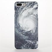 용 반투명 패턴 케이스 뒷면 커버 케이스 풍경 하드 PC 용 Apple 아이폰 7 플러스 아이폰 (7) iPhone 6s Plus iPhone 6 Plus iPhone 6s 아이폰 6