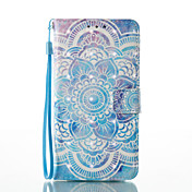 Samsung Galaxy A5(2017) A3(2017) 3D Effect Mandala Pattern PU Material Wallet Section Phone Case for A510 A310