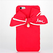 Para Manualidades Funda Cubierta Trasera Funda Dibujo 3D Dura Textil para AppleiPhone 7 Plus iPhone 7 iPhone 6s Plus iPhone 6 Plus iPhone
