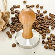 50 ml Acero Inoxidable Madera Molinillo de café , Hacer cafe Fabricante Manual