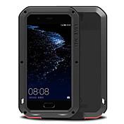 용 방수 충격방지 케이스 풀 바디 케이스 단색 하드 메탈 용 Huawei Huawei P10 Plus Huawei P10