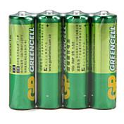 gp 녹색 셀 슈퍼 탄소 배터리 충전식 배터리 15g r6p AA 1.5v