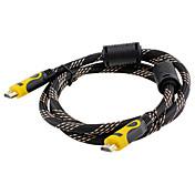 HDMI 1.4 Cable, HDMI 1.4 to HDMI 1.4 Cable Macho - Macho 15.0m (50 pies)