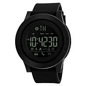 SKMEI Hombre Reloj Deportivo Reloj Smart Reloj digital Digital PU Banda Negro