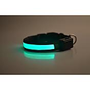 Cuello Reflexivo Luz LED Seguridad Un Color Nailon
