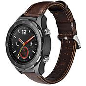 Para la correa del reloj del deporte del cuero genuino watch2 del hoco huawei 20m m marrón&café