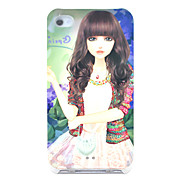 Sweety Girl Pattern Hard Case for iPhone 4/4S