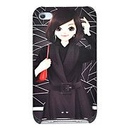 Bob Cute Girl Pattern Hard Case for iPhone 4/4S