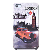 Big Ben Bubble Car Pattern Hard Case for iPhone 4/4S