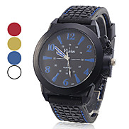 Unisex Silicone Quartz Analog Wrist Watch (Assorted Colors) Cool Watches Unique Watches