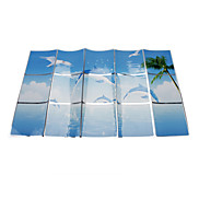 75x45cm Dolphin Pattern Oil-Proof Water-Proof Wall Sticker