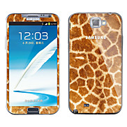 Leopard Print Pattern Body Sticker for Samsung Galaxy Note 2 N7100
