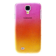 Gradient Small Droplets Hard Case for Samsung Galaxy S4 I9500(Rose Shades)