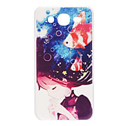 Girl and Fish Pattern Hard Case for Samsung Galaxy Mega 5.8 I9152