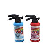 Fire Extinguisher Shaped Eraser(2PCS Random Color)