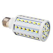 12W E26/E27 LED Corn Lights T 60 SMD 5050 lm Cool White AC 220-240 V