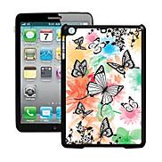 Butterfly Pattern 3D Effect Case for iPad mini 3, iPad mini 2, iPad mini