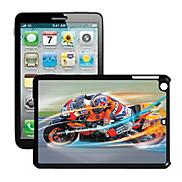 Motorcycle Pattern 3D Effect Case for iPad mini 3, iPad mini 2, iPad mini