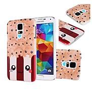Kawaii Popcorn Pattern Plastic Case for Samsung Galaxy S5 Mini G800