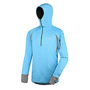 AMADIS Blue Polyester Long Sleeve Anti-UV Fishing Hoodie