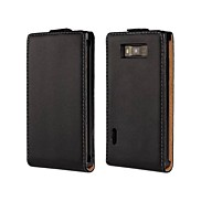 Solid Color PU Leather Full Body Case for LG Optimus L7 P705 (Assorted Colors)