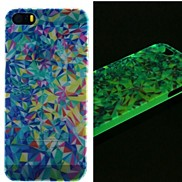 Colorful Triangles Glow in Dark Case for iPhone 4/4S